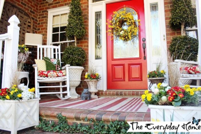 spring porch full