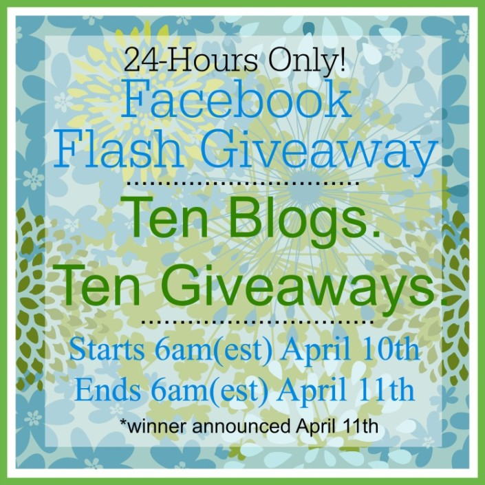 Facebook Flash Giveaway at The Everyday Home