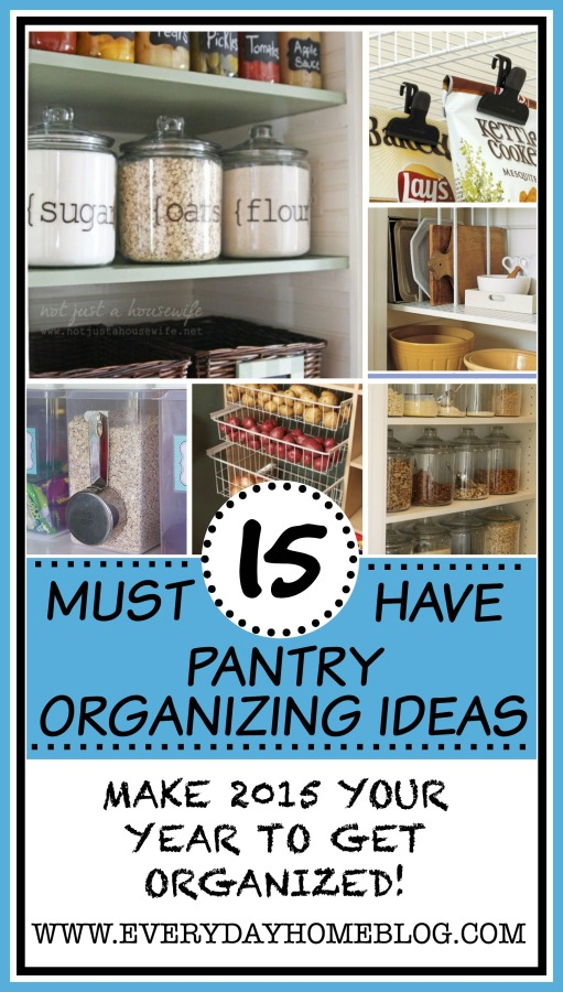 Pantry Organizing Ideas Do It Yourself