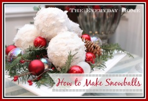 "Easy DIY ""Snowballs"""