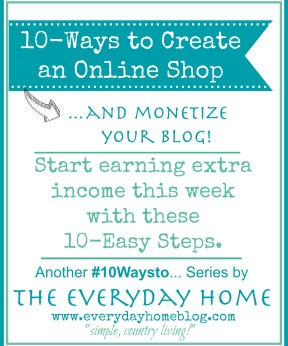 10 Ways to Create an Online Shop for Your Blog