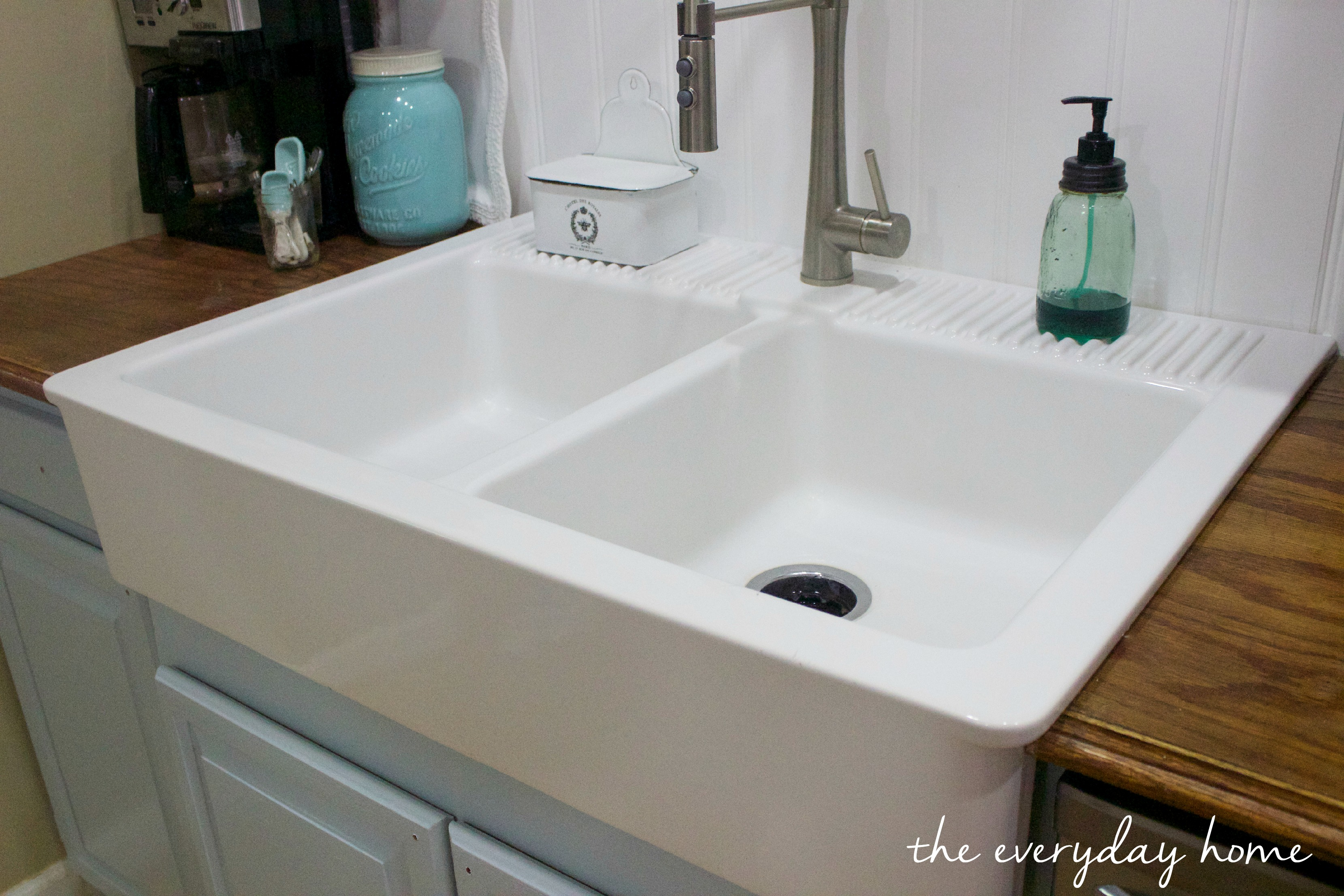 Ikea Farmhouse Sink The Everyday Home: farmhouse sink ikea