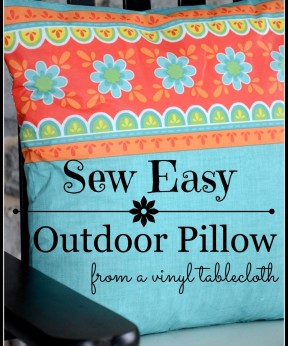 Easy Outdoor Pillows