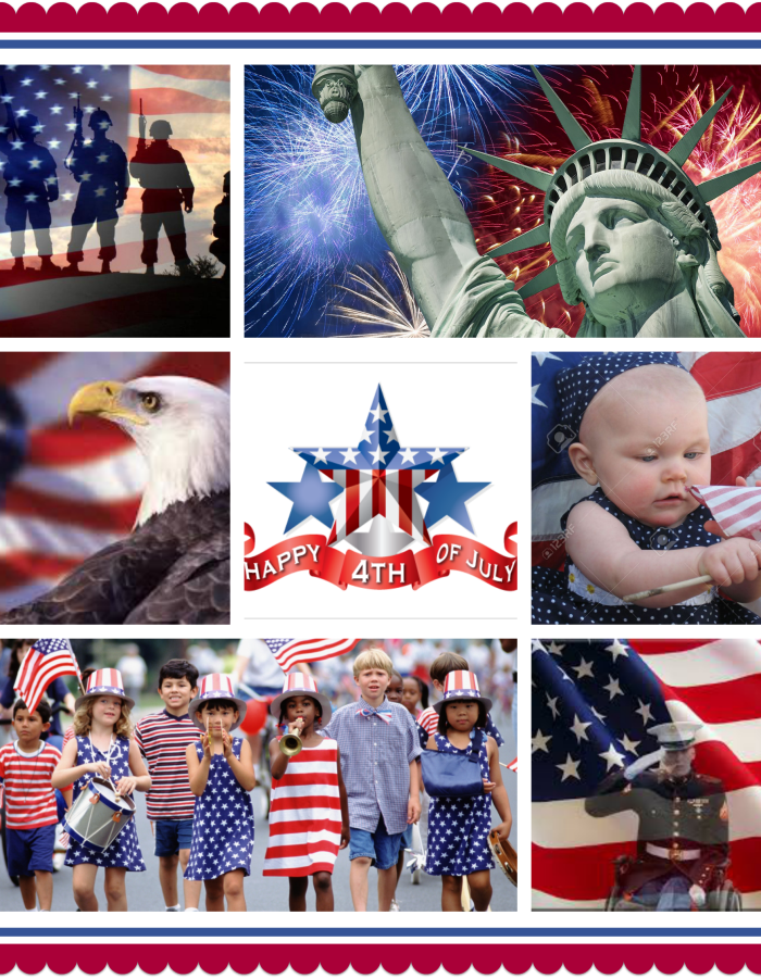 4th July Collage
