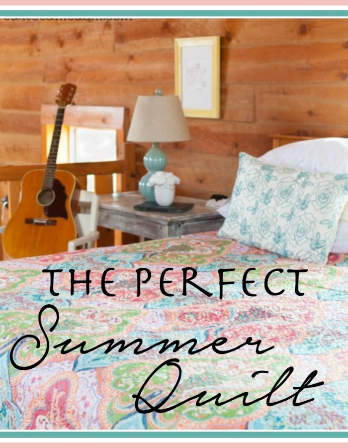 The Perfect Summer Quilt | The Everyday Home | www.everydayhomeblog.com