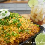 Mexi Cheesy Rice and Chicken Skillet
