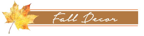 Fall Decor Button