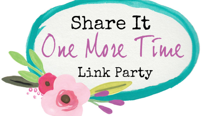 Share It One More Time Link Party #1